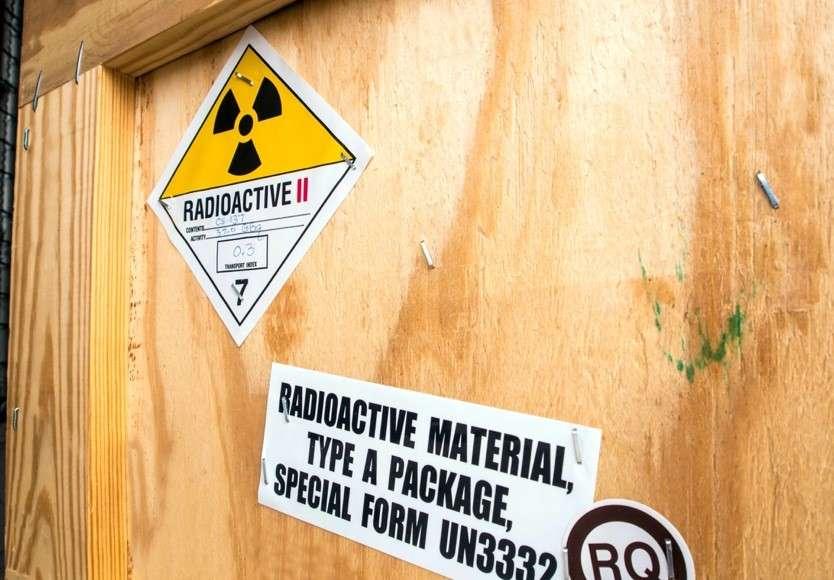 Transporting radioactive materials