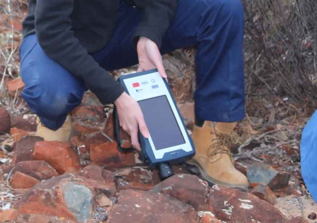 The Application of portable RAMAN Spectroscopy